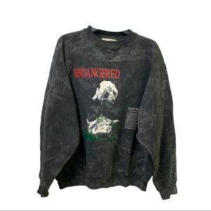Rare Vintage Galt Sand Giant Panda Sweatshirt